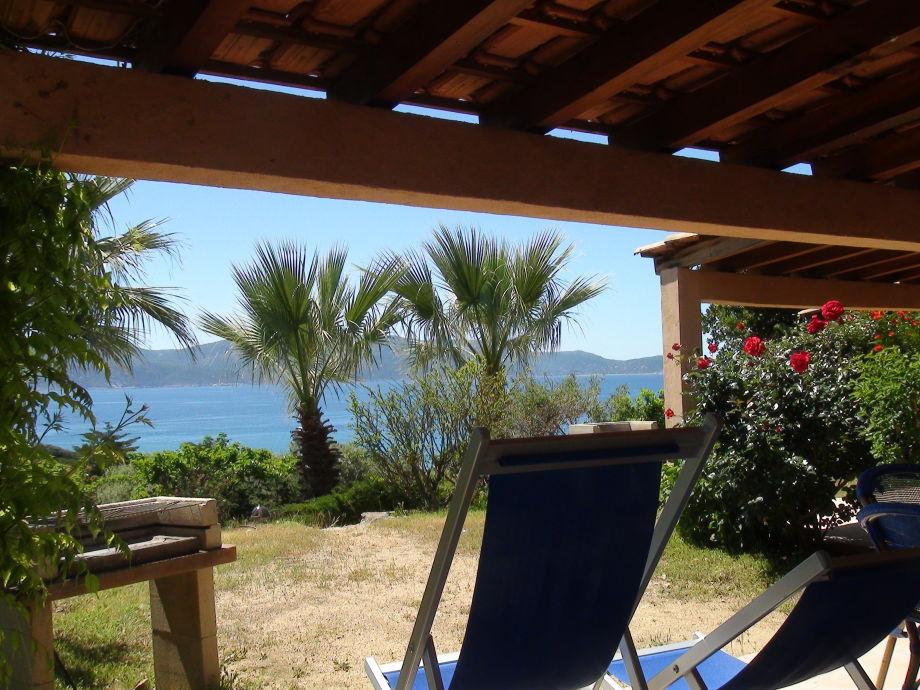 Ruhige une Meerblick im Süden Korsika
