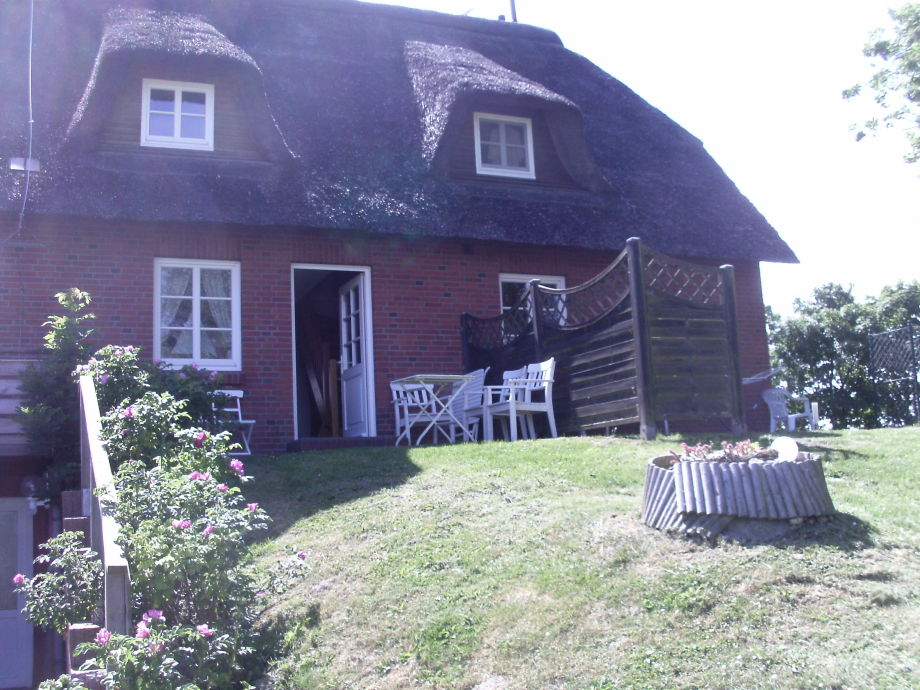 Warft-Terrasse von Haus Groede