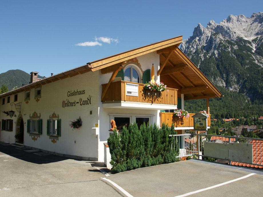 Ferienhaus Goldenes Landl mit Blick auf Karwendel