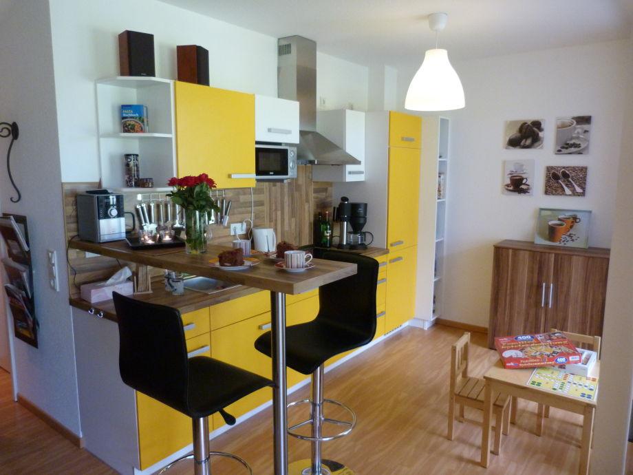 Unsere sonnengelbe Küche