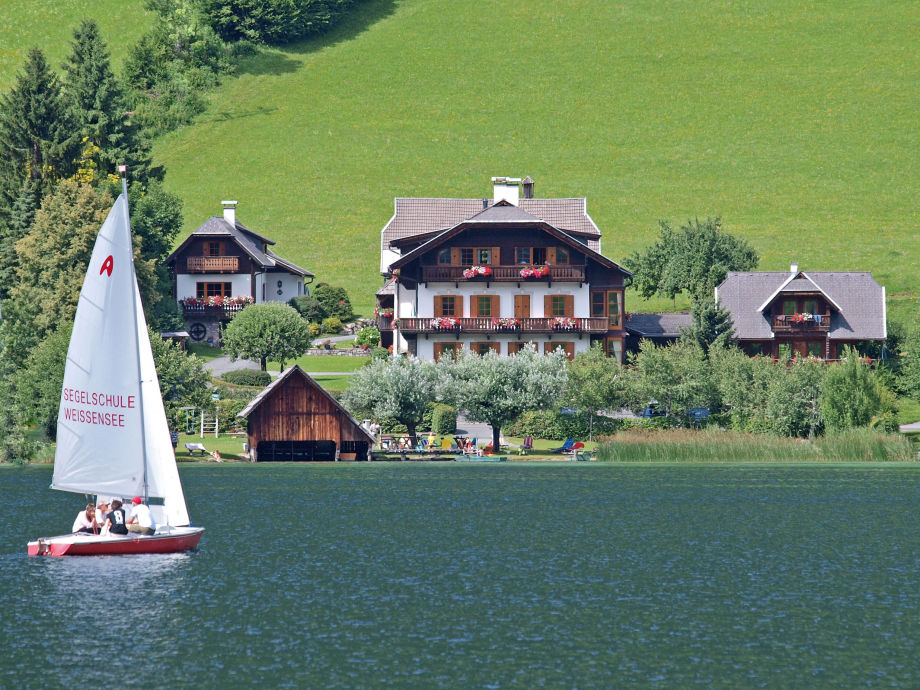 farmhouse obergasser with lake view