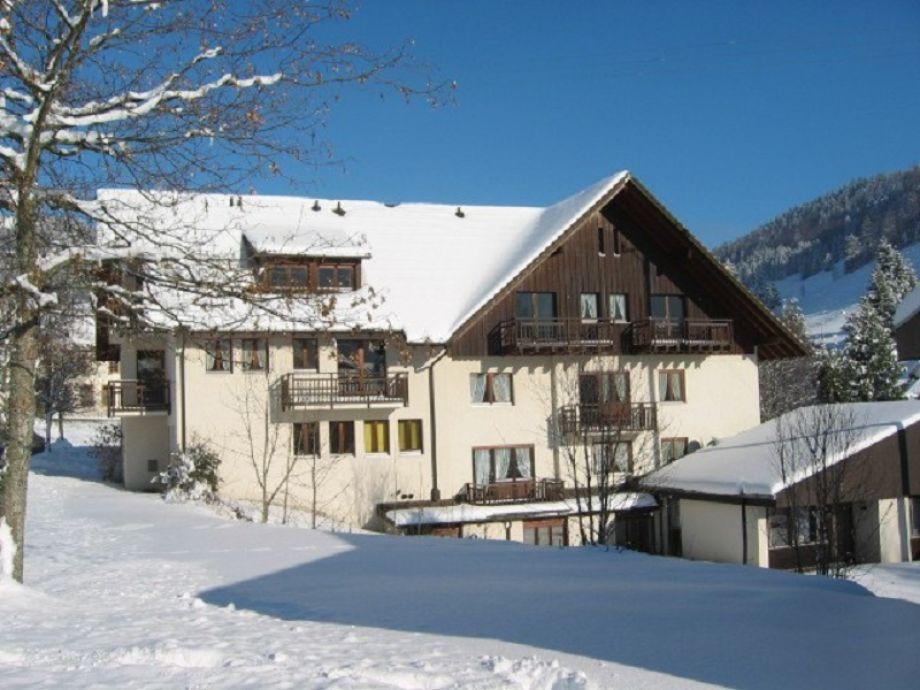 Haus Gerda im Winter