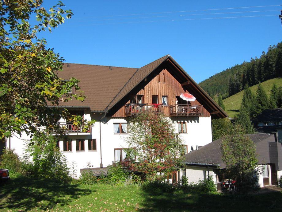 Außenaufnahme Schwarzwaldmädel-Ferienwohnung Typ D