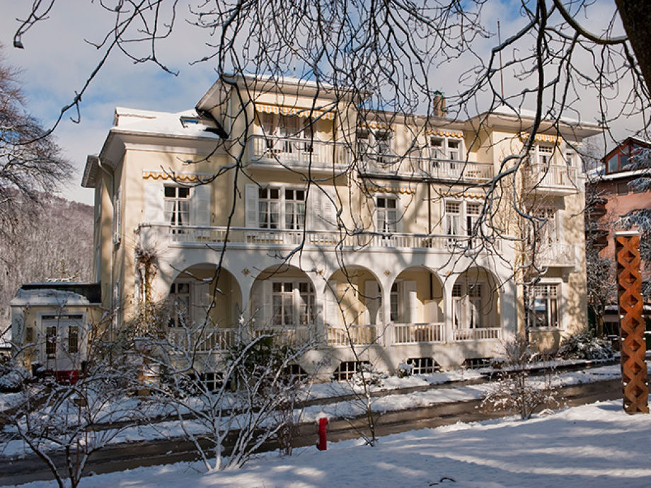 Villa Hedwig im Winter