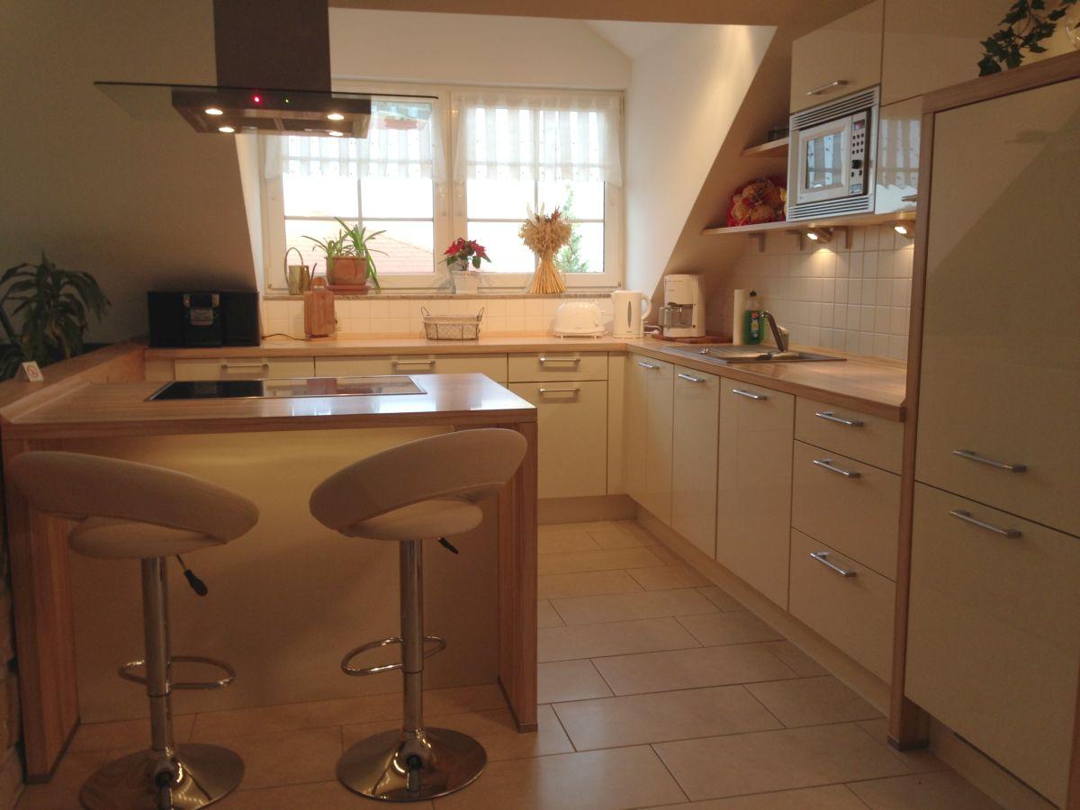 Ferienwohnung am eichenberg harz frau anja klaschka for Küche mit kochinsel