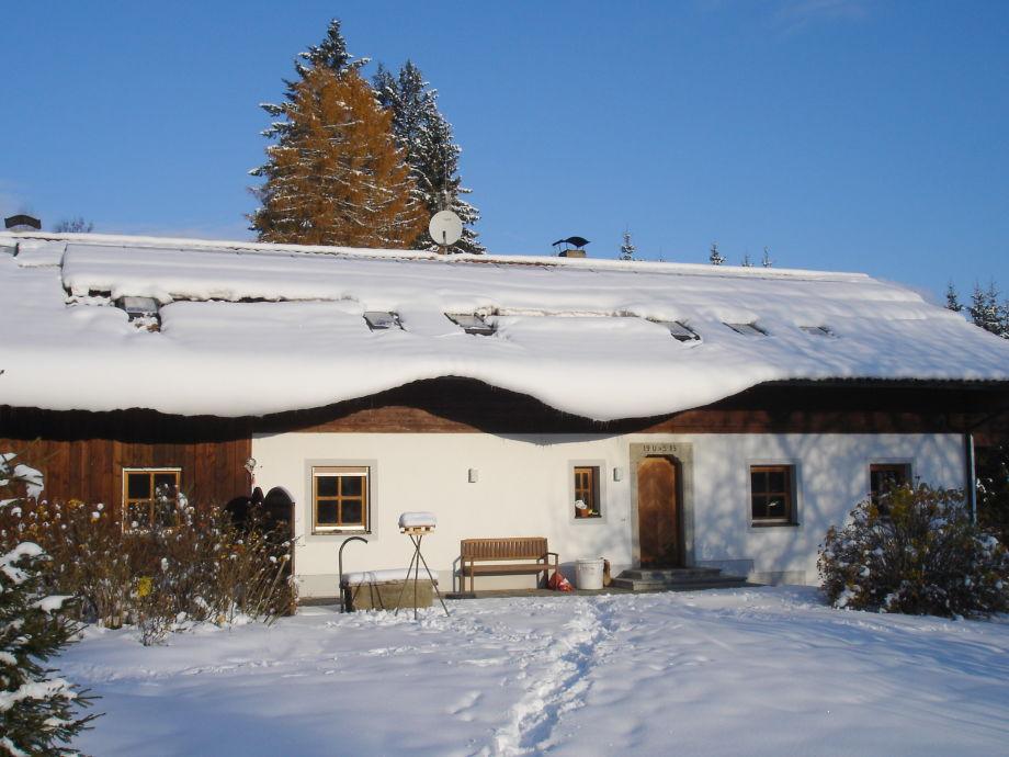 Winter an der Einöde Finkenried
