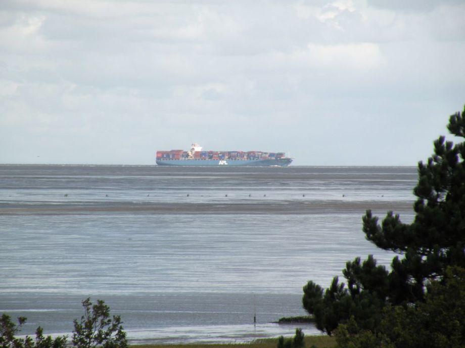 mit Blick auf den Weltschifffahrtsweg