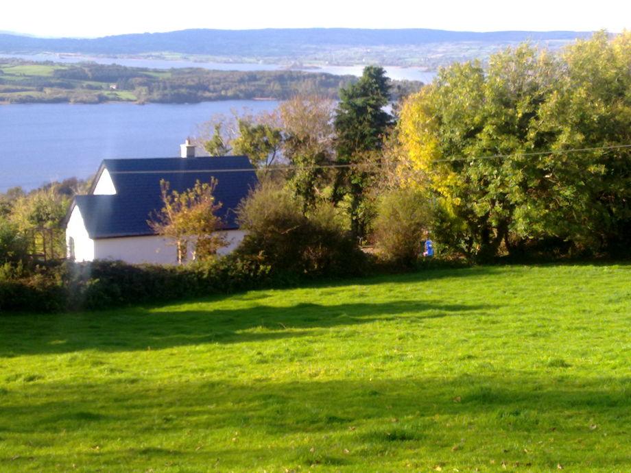 Blick auf das Haus von den Hügeln