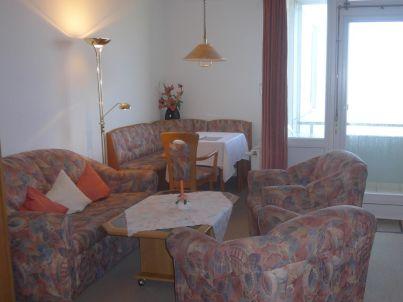 Ferienwohnung 45 - FeWo mit Meerblick - Westbalkon - Haus Seeblick