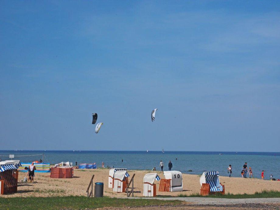 Unser Strand in 800 m Entfernung