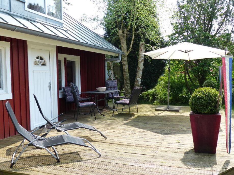 Sonnige Terrasse zum Relaxen