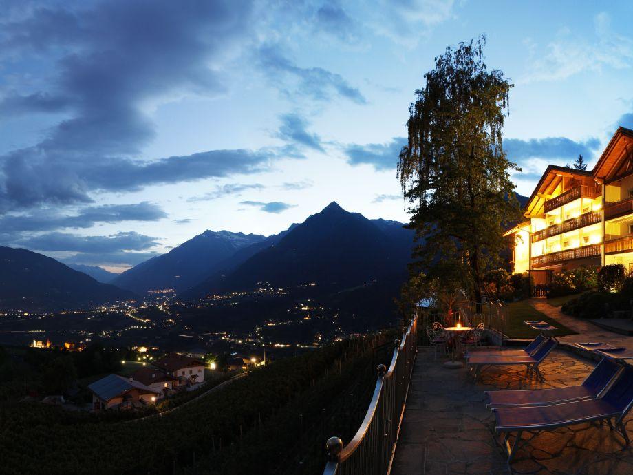 Abendstimmung Residence Winzerhöhe