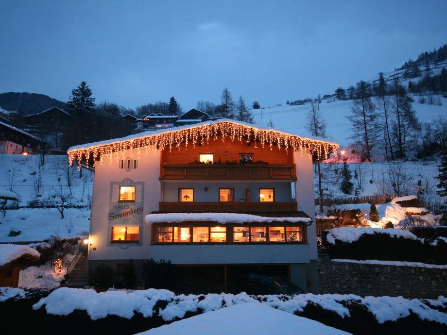 Ferienhaus Sonnenhang im Winter