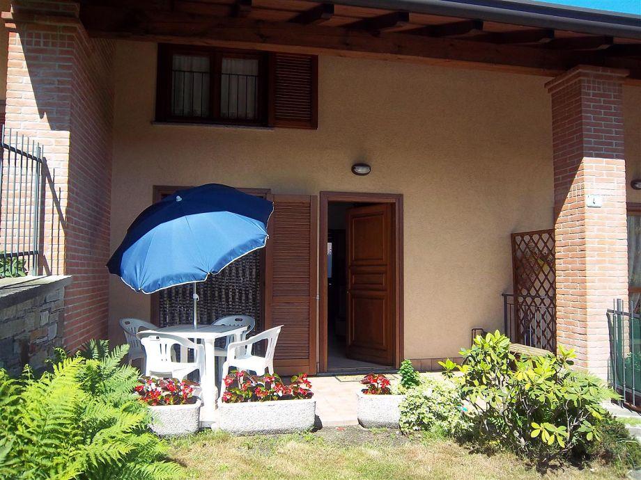 der Eingang des Hauses