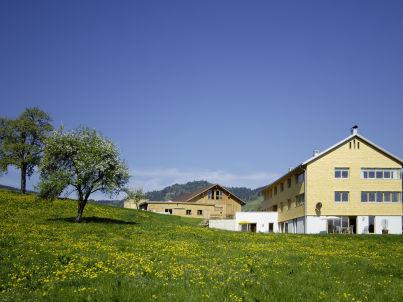 Sonnenaufgang auf dem Ferienhof Schweizer