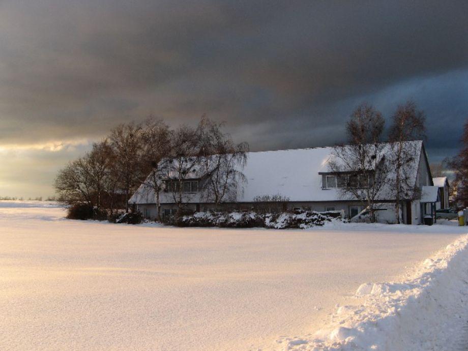 Winter in der Ostseepension