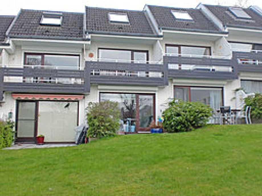 Ferienwohnung Seeblick Scharbeutz - Blick auf die Terrasse