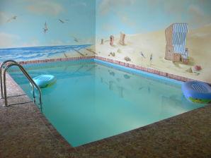 Ferienhaus 1 mit Pool - Miedzyzdroje OT Wicko