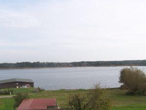 Ferienwohnung direkt am Jabeler See mit Wasserzugang