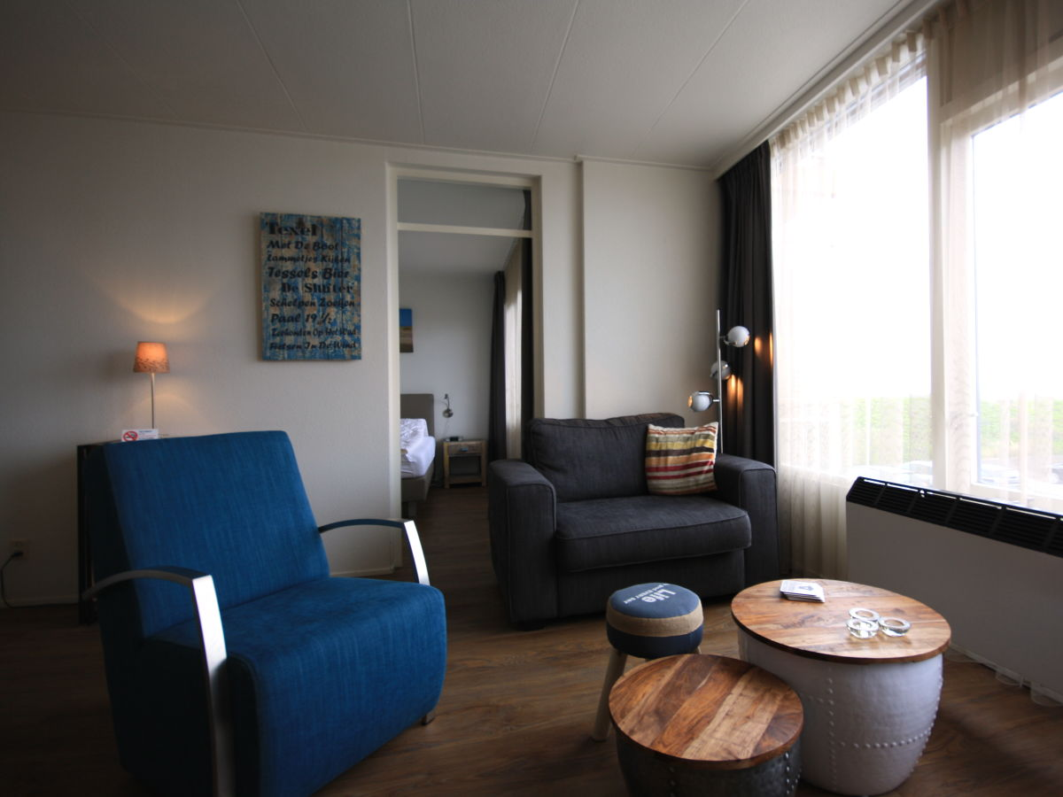 Ferienwohnung prinses juliana 122 texel de koog firma - Eingerichtete wohnzimmer ...