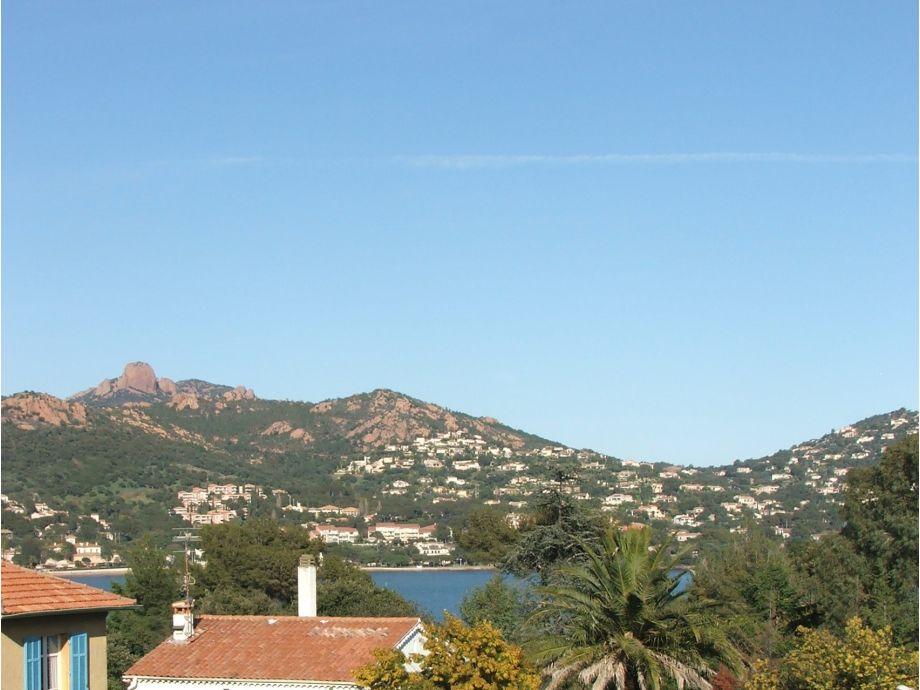 Blick auf die Bucht von Agay