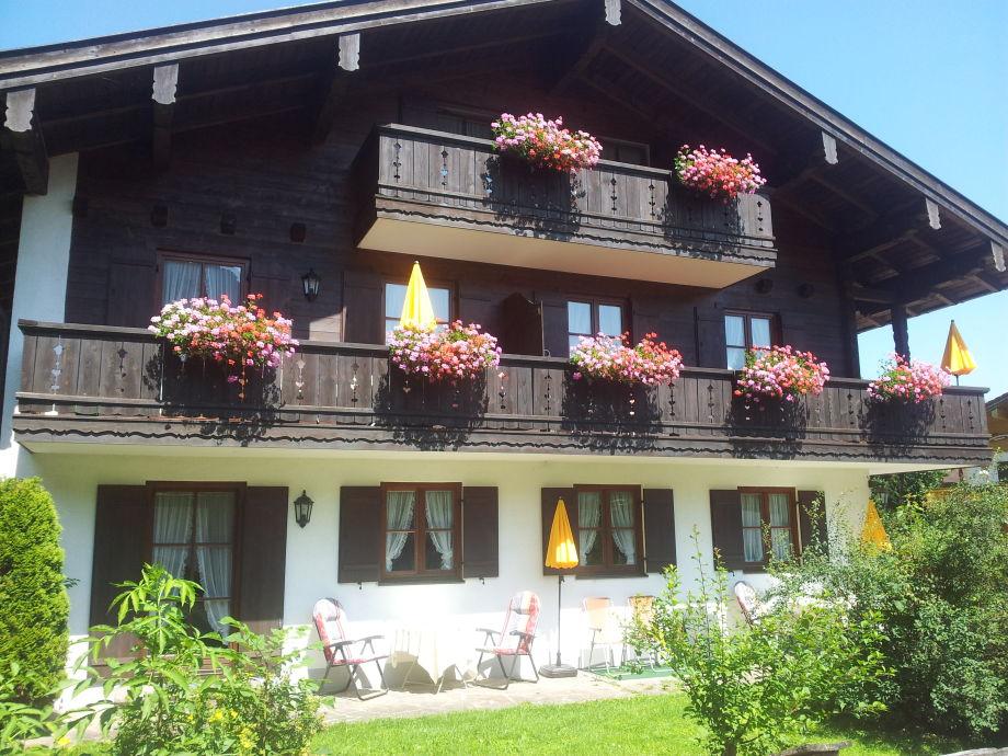 Rückseite von Haus Liesl