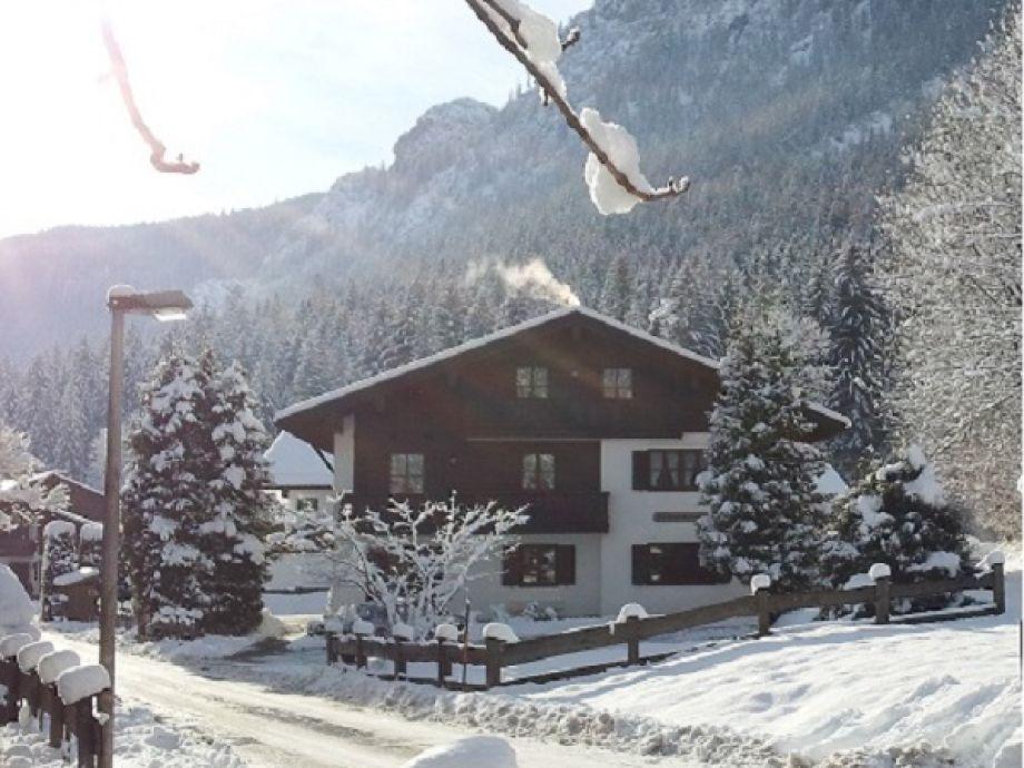 Haus Liesl im Winter