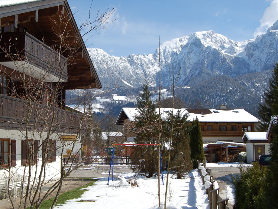 Winterbild Haus Liesl