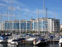 Ferienwohnung Penthouse Ostsee-Residenz mit Hafen- und Ostseeblick