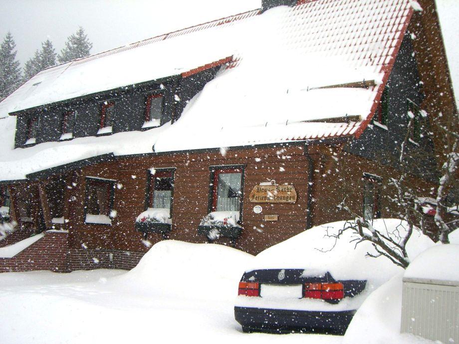 Haus Käthe im Winter
