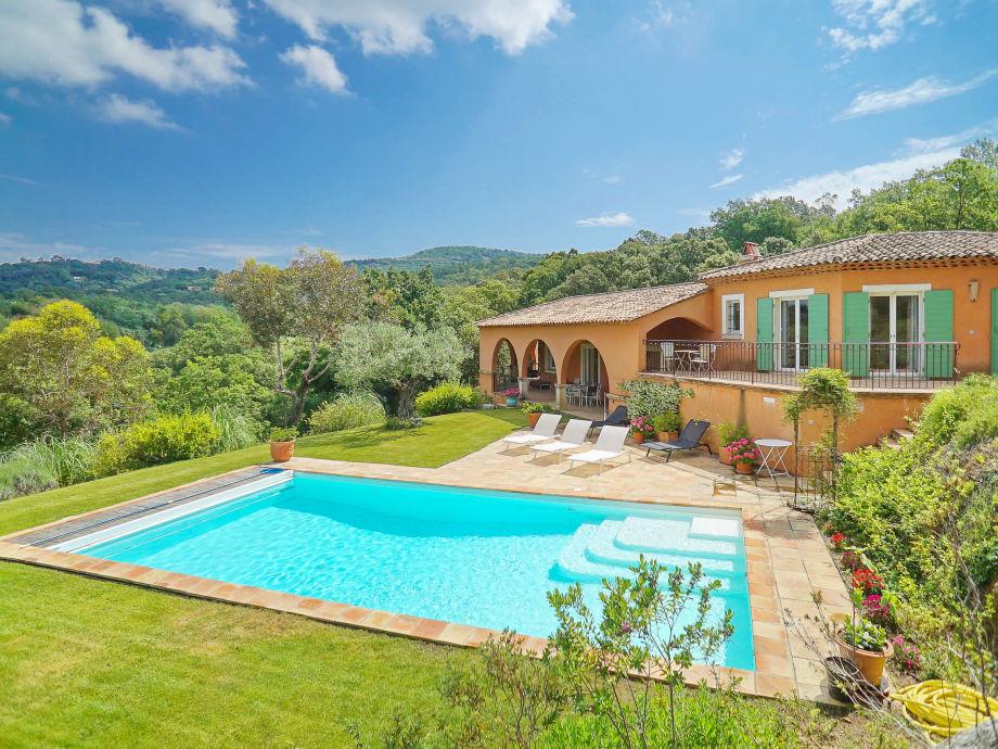 Villa mit Pool bei Gassin