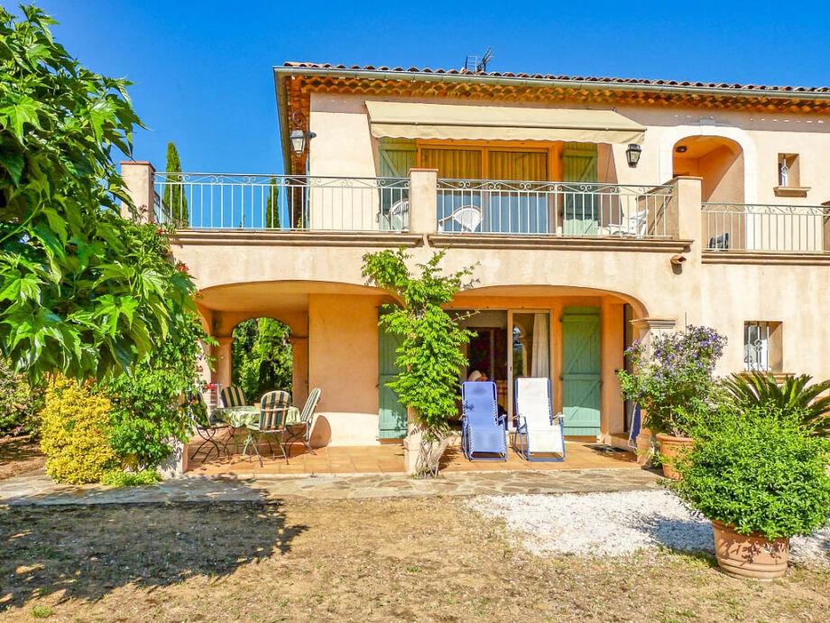 Ferienwohnung im Erdgeschoß einer Villa La Croix Valmer