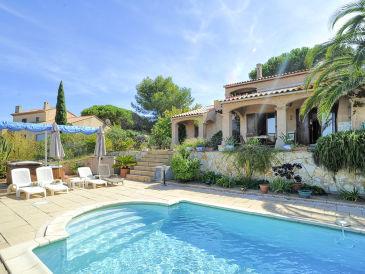 Ferienhaus mit Pool auf der Halbinsel Giens