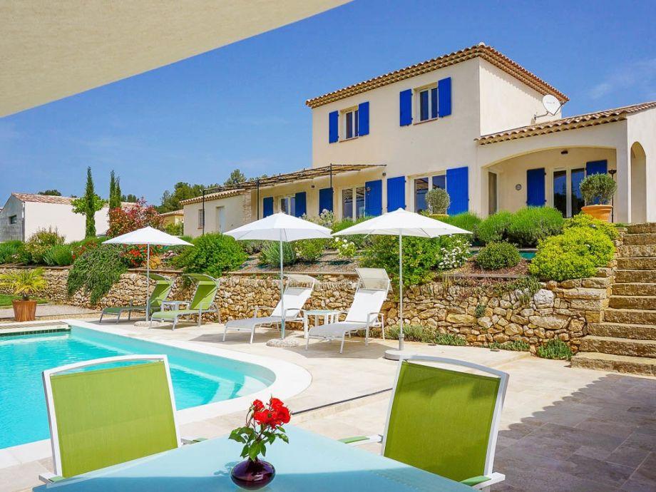 Ferienhaus mit Pool bei Aix-en-Provence