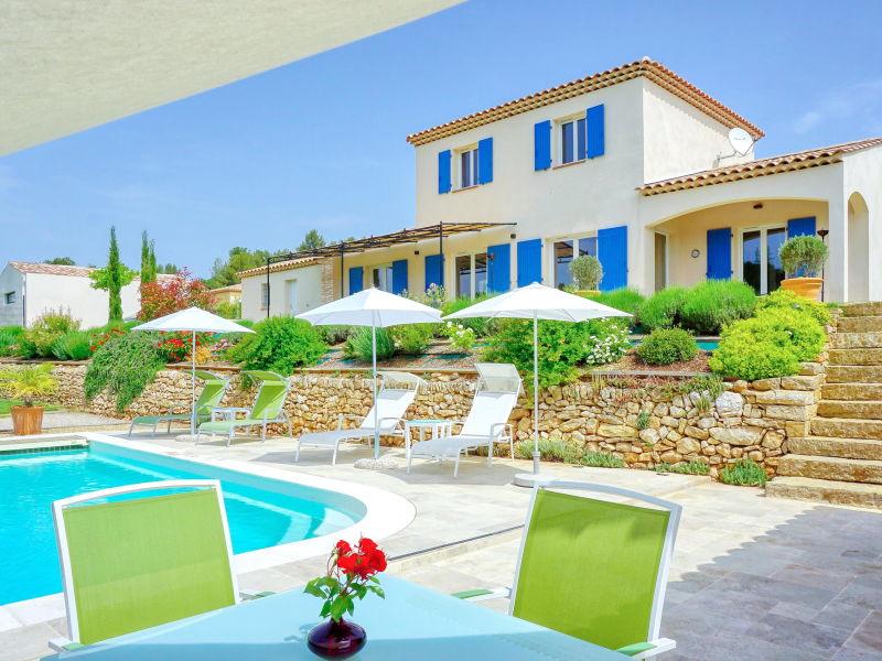 Ferienhaus mit Pool nahe Aix-en-Provence