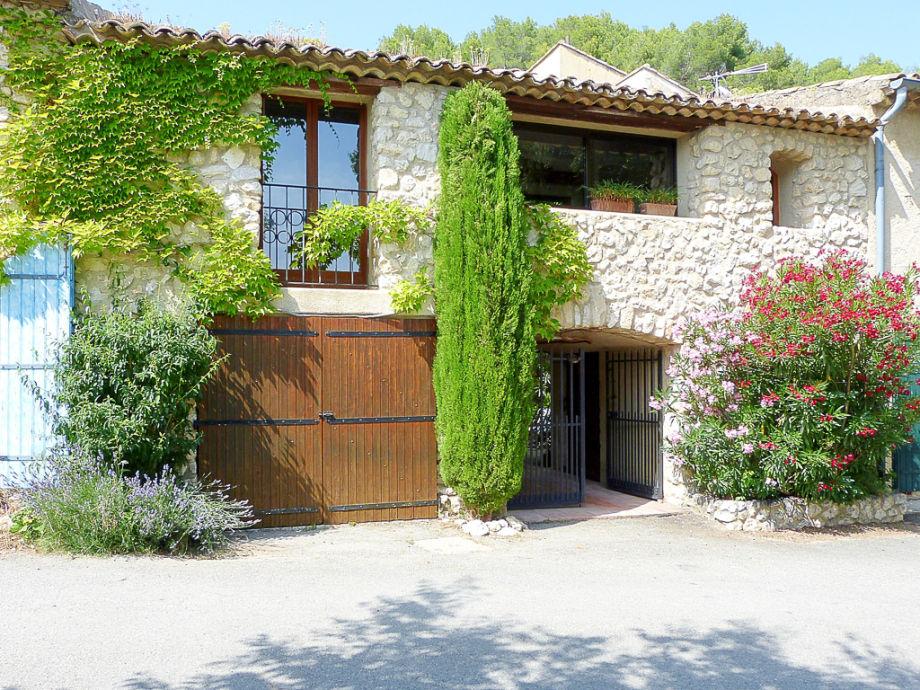 Ferienhaus mit Innenhof in der Provence