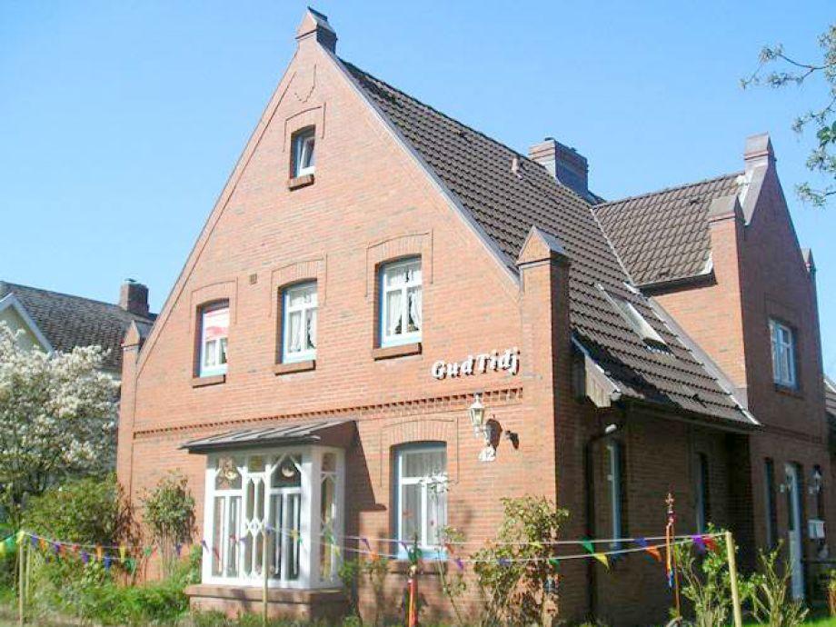 """Das Haus """"Gud Tidj"""" - mitten in Wyk und dennoch ruhig gelegen"""