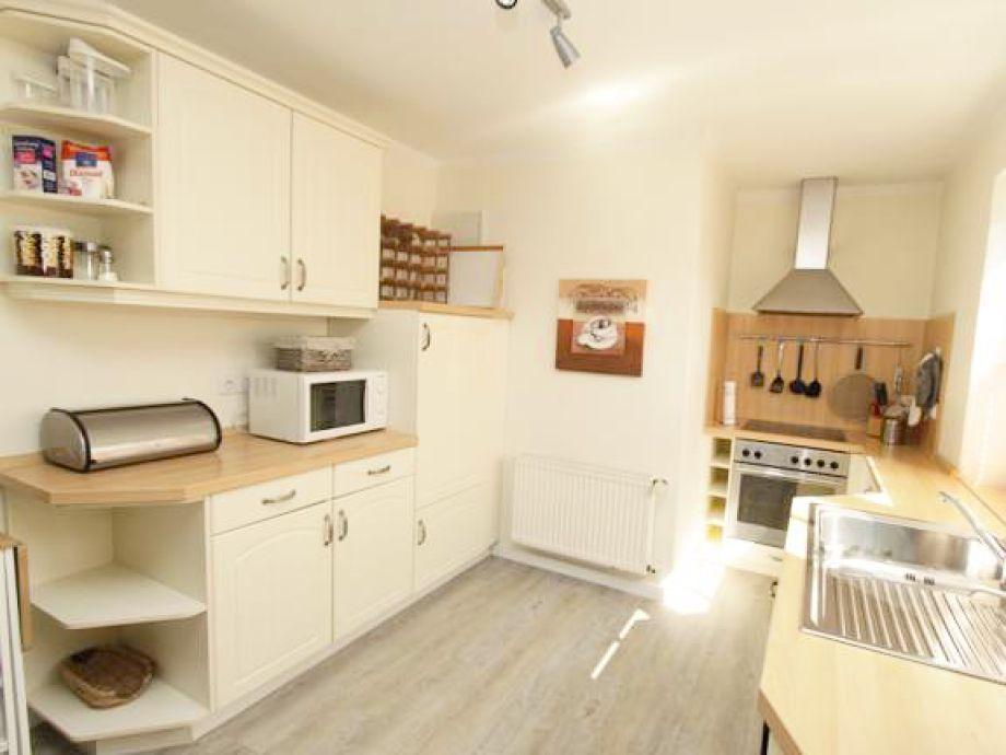 Die sehr komfortable Küche - es ist alles vorhanden