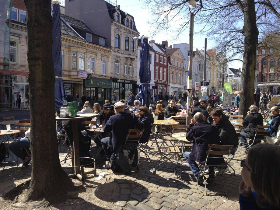Cafe Sand Bremen Hunde