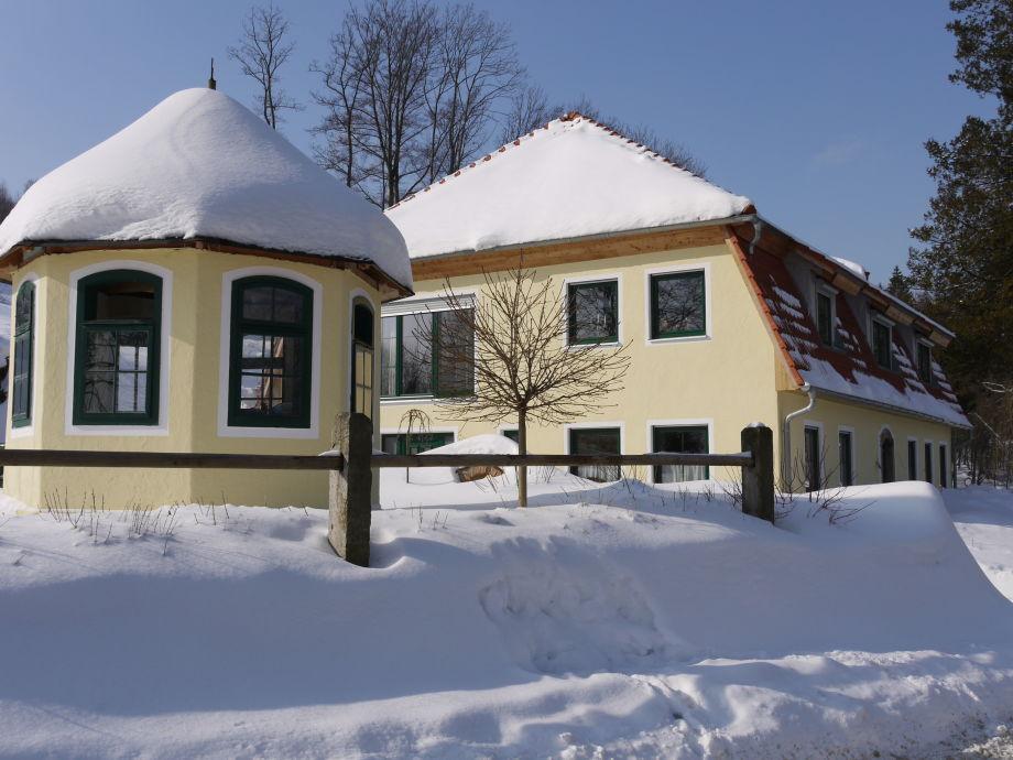 Winter im Gutshaus