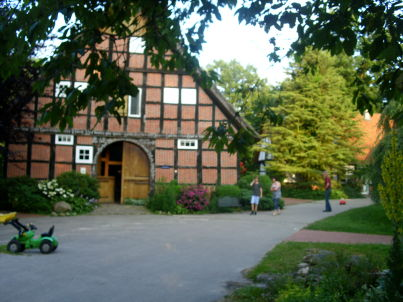 """""""Kornboden"""" auf dem Bauernhof Hof am Kolk"""