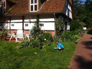 """Apartment """"Hühnerhäuschen"""" auf dem  Bauernhof Hof am Kolk"""