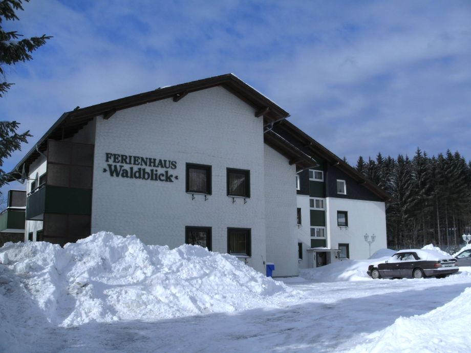 Ferienhaus 'Walblick' im Winter