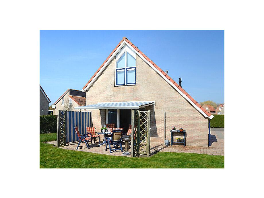 Das Ferienhaus mit Terrasse