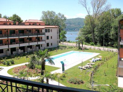 Residenza Sasso Moro trilocali mit Balkon