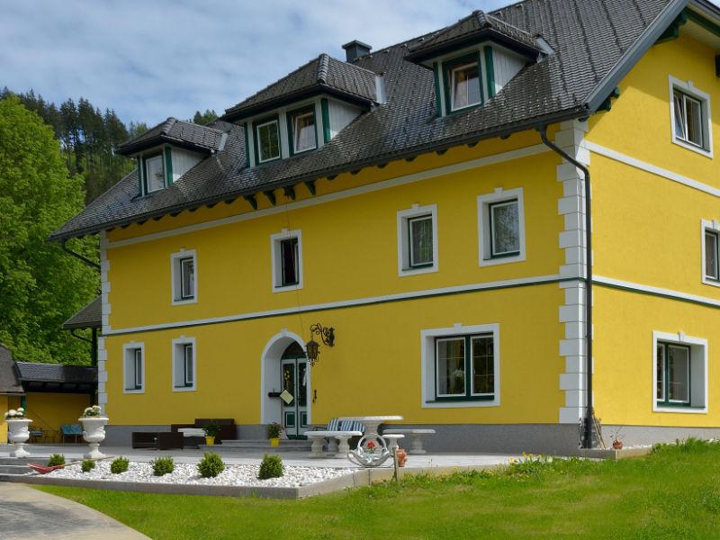 Ferienhaus Hütte zum Badeteich