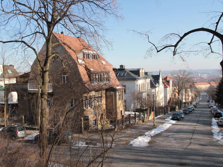 Blick zur Stadt