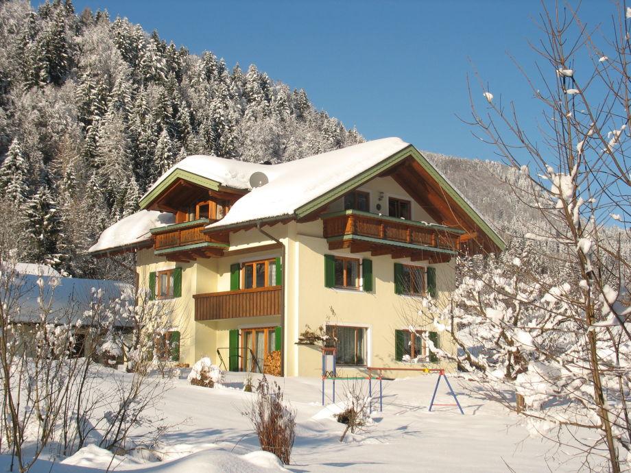 Ferienwohnung Kaiserblick im Winter