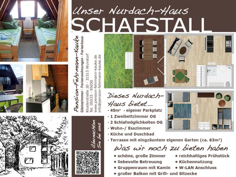 Ferienhaus Nurdachhaus in der Pension Fehrmann-Kauke, Steinhuder ...