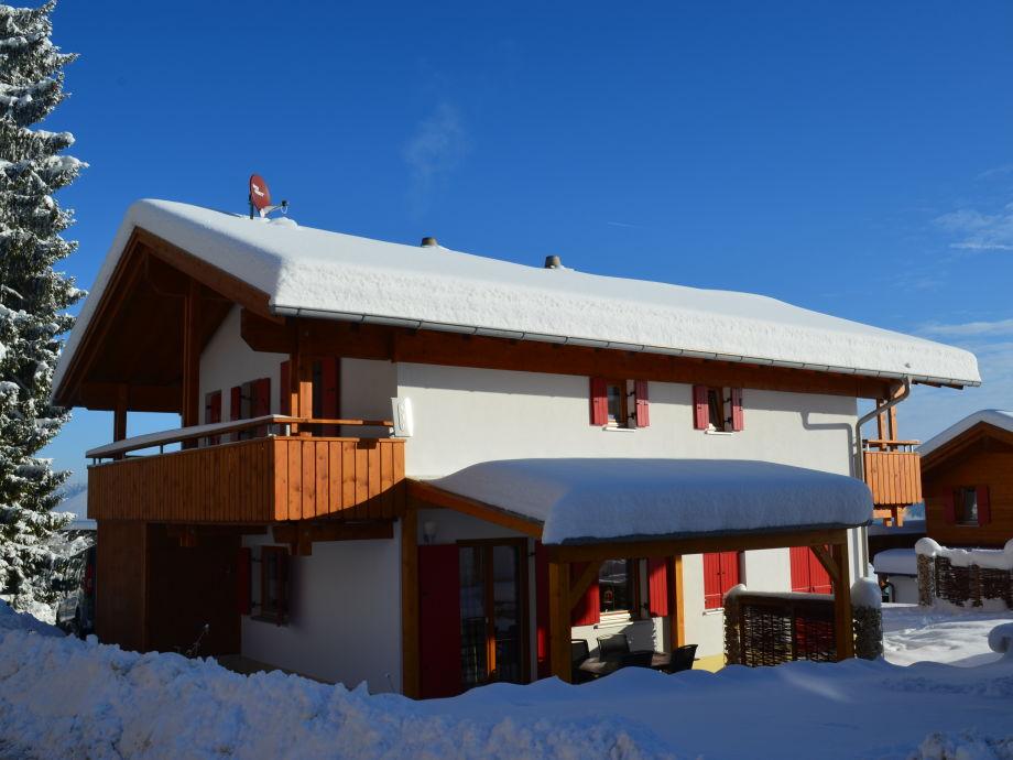 Ferienhaus Martin im Winter